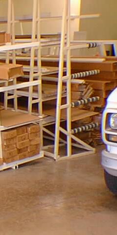 Single-Sided Storage Racks