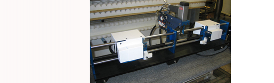 Louver Drilling and Stapling Machine w/ Auto Centering