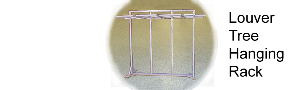 Louver Tree Hanging Rack