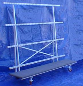 Rolling Panel Rack