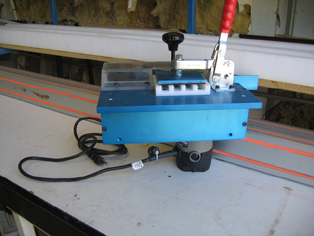 Tilt Rod Radius Cutter, 4 At A Time